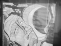 A grafittal varázsló lány