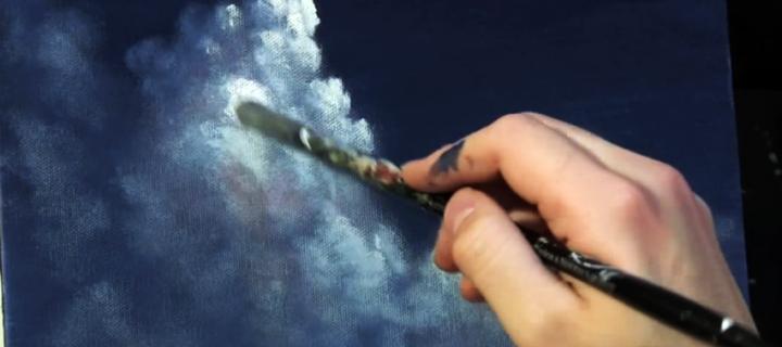 Arról, aki az eget festi