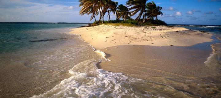 Társaink egy lakatlan szigeten