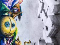 Tudat alatt-valóság fölött avagy ajánló Kovács Dávid rajzaihoz