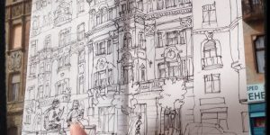 Szoboszlay András Bolondos Budapestje, avagy egy kiállításmegnyitó részletei