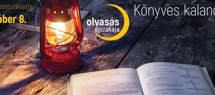 2016-ban újra Olvasás Éjszakája!