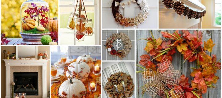 5 őszi dekorációs tipp borongós napokra