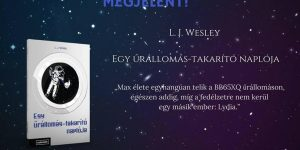 Könyvajánló: L. J. Wesley: Egy űrállomás-takarító naplója