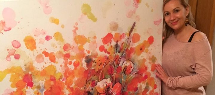 Örömfestés és művészetterápia – bemutatkozik a Színes Időm Alkotóműhely